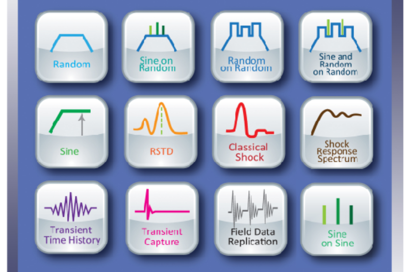 Vibrasjons kontroller og bærbar DAQ / Analyzer