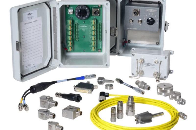 Vibration sensor with 4-20mA output signal