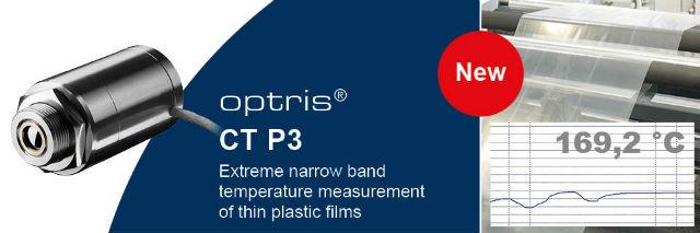 CT P3 laser temperaturmåler fra Optris